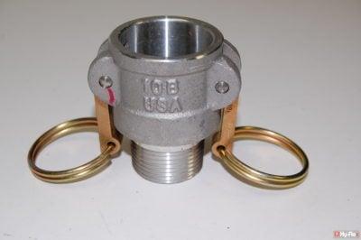 1in B Aluminum Camlock