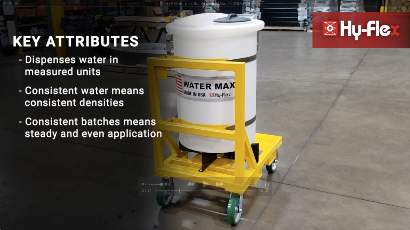 WaterMax Key Attributes